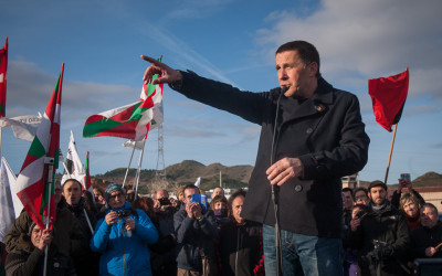 Arnaldo Otegi Leaves Prison