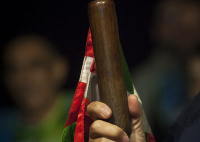 The baton. (Gari Garaialde / Bostok Photo)