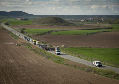 20th Korrika caravan heads to Pitillas. (Gari Garaialde / Bostok Photo)