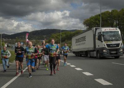 People run on the 20th Korrika. (Gari Garaialde / Bostok Photo)