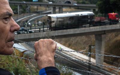 Train crash in Santiago de Compostela