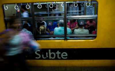Street Photography in Buenos Aires, Argentina 2015